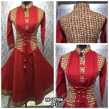 Cotton kurti. Size 40. Contact on watsapp 9949673332 for placing orders.  #kurtis