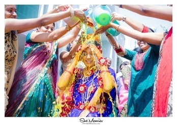 """A pretty bride in the making and this ceremony is called """"Making the bride"""" or Pellikuthuru in Telugu. And we love Telugu weddings for all the grandeur, Colors and fun.  . For enquiries and bookings, call +91-9962012288 or visit www.shotmemories.com . #weddingphotography #weddingphotographer #weddingphoto #weddingday#weddingmoments #weddingceremony #indianweddingphotography #weddingfashion #bridalfashion#weddinginspirations #indianweddingphotographer #weddingideas#indianbride #weddingring #weddingblog#indiangroom #weddingplanning#tamilwedding #Memories#destinationweddingphotographer#bridalphotographer #couplesphotography #engagementphotos #engagmentphotography#teluguwedding #bridebook #chennaiweddingphotographer #indianwedding #indianweddingbuzz"""