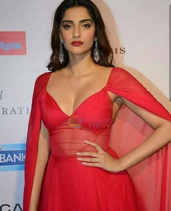 #sonamkapoor #hot #reddress #filmistaan  #wow