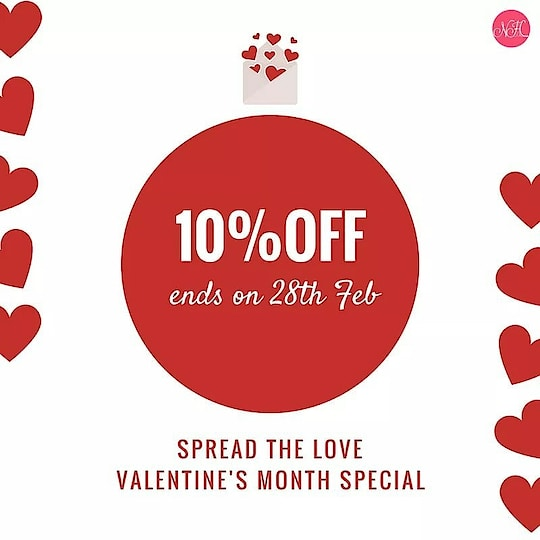 "This Valentine's Month ""Love Yourself"" and buy some great and comfortable nightwear from us and avail 10% OFF.  Use the coupon code: LOVENH. Get. Set. Go.   Shop here: http://bit.ly/2FQhqbK  #ValentinesWeek #Offers #womennightwear #valentinesday #valentine #womenclothing #women #nighty #nightwearforwomen"