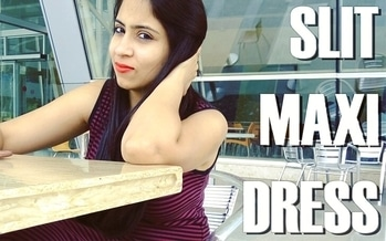 Head into to have a look at An excellent way to carry a Slit Maxi Dress 😍 #LinkinBio #mustread . . #maxidress #fashionpost #fashion #fashionblogger #fashionblog #ootdiva #diva #outfit #stripedress #slitdress  #makeup #fashiondiaries #doubletap #collaboration #dm #beauty #girl #igers #roposogal #roposostyle #roposofashion #roposo #sexy  #blogpost #blogger #fashioninsta #lunchdate #fashionwomen #beautiful #outfitofthediva 💕❤💋😍