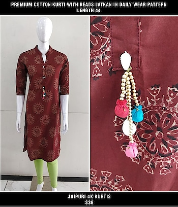 *8 Designs*  *Premium Jaipuri Kurtis*  ❌ All this Normal Pricing was Rs 899  ✔ *Now in Event the Price* is only Rs 699  *DO Grab it Now* All Last Pieces left Only   Direct Message us or whatsapp on 9867764381   Follow us 👉🏻on FB:  *https://www.facebook.com/Stylista-Fashionss-2137660539847810/*  #stylistafashionss #style #fashion #trend #readysuit #dressmaterial #ethnic #western #fashionjewellery  #handbags #kurti #botttomwear #onestop #shopping #saree #readymadeblouse #lookstylish #bethefashion #shopstylistafashionss #onlineshopping #bestquality #bestprice #bestbuy #swag