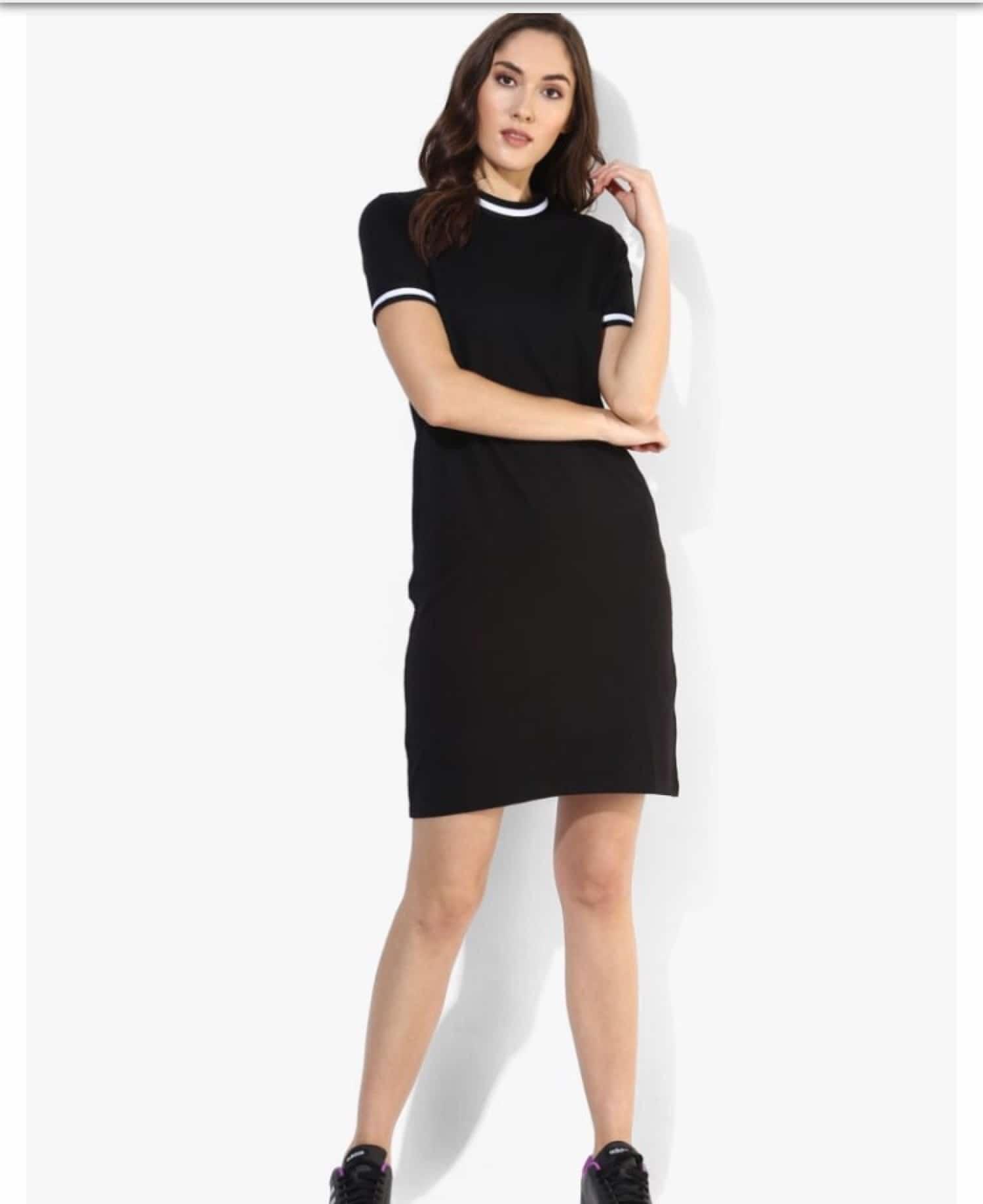 Sporty Dress ₹799 only #blacksportydress #western-dress #dressonline #womendressesonline #blackdress #blackloveforever  #sportydress