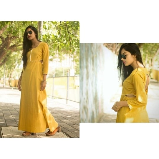 Yellow Cutout Maxi Dress from our Wicked Tribe Collection.  Made to order. Message to order now . ❤️ #fashion #style #stylish #love #TagsForLikes #me #cute #photooftheday #nails #hair #beauty #beautiful #instagood #instafashion #pretty #girly #pink #girl #girls #eyes #model #dress #skirt #shoes #heels #styles #outfit #purse #jewelry #shopping #yellow