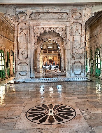 #Rajasthan's very own #marble #marvel is the Jaswant Thada mausoleum in #Jodhpur. PC: Ross Serven, Flickr #heritage #wow #amazing #travel #travelbug #instatravel #wanderlust #see #gameoftones #incredibleindia #photography #photooftheday #india #interior
