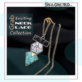 Shop stunning#necklacecollection . .#TheswagWorld #jewelleryaddict #subscriptionbox #jewellerysubscriptionboxindia . @the_swagworld . Shop at www.theswagworld.com . WhatsApp on 9664352272 to place your order. . #subscriptionbox #monthly #theswagworld  #theswagbox #follow #subscriptionboxaddiction #varietiesofswagbox #loveforsubscriptionbox #ladiessubscriptionbox #classicswagbox #miniswagbox #swagboxwithabonus #princessswagbox #curateyourswagbox #stylemyswagbox #trendyjewelry #statementjewellery #thebnbmag  #floralswagbox #jewellery #jewelry #jewelryoftheday #saturdayswag