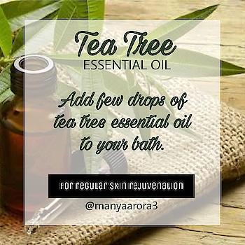 Try tea tree essential oil 😍 . . . . . . #teatreeessentialoil #teatreeoil #teatree #teatreelover #benefitsofteatreeoil  #nailscare #healthynails #healthynailsarethebestnails #nailscareroutine #careroutine #homeremedyforskin #homeremedies #naturalandorganic #bebeautiful #followforfolllow #likeforlike