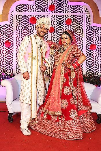 #dulha-dulhan #indiawedding #shadisaga #shaadisaaga #weddingbells #bride #groom #desidulhan #mybae #hubbae #husband #husbandandwife #feb2018 #bigdayofmylife #blessed