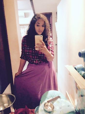 my style post pregnancy #wrap aroundskirt #shirtsforwomen