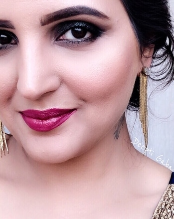 """🕶⬇️ CREATED THIS LOOK ON MY FB LIVE SESSION YESTERDAY! ⚫️⚪️⚫️⚪️⚫️⚪️⚫️⚪️⚫️ We become what we think about"""" ⚫️⚪️⚫️⚪️⚫️⚪️⚫️⚪️⚫️ ☑️TURN ON THE NOTIFICATIONS FOR FURTHER UPDATES @muadeeptigaba  ⚪️⚫️⚪️⚫️⚪️⚫️⚪️⚫️⚪️ #blogger #bloggerstyle #sugarcosmetics #lipcrayon #metallicsmokeyeye #metalliceyes #metalliceyeshadow #beautyblogger #delhiblogger #delhimakeupartist #contouring #browsonfleek #lipstrobe #angelic #hudabeauty #shophudabeauty #lorealtotalcover"""