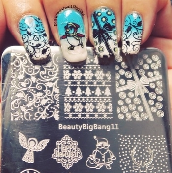 BeautyBigBang11 Nail Stamping Plate @beautybigbang  🔅Item Code: ZHSP0248 🔅Direct link: https://www.beautybigbang.com/products/5pcs-xmas-deer-santa-snowflake-christmas-hat-theme-nail-stamping-plates-set . This plate has 4 big and 6 small beautiful designs. The plate works well with both regular and stamping polish. High quality plate and etched very well.  I highly recommended this plate & its affordable too. . 🔆Get it for Christmas  🔆use ISH10 for 10% off . Full Tutorial is up on my YouTube channel, link is in the bio👆 Go watch it, show some love 💖 and dont forget to hit the Subscribe button 😌 . #designyournailsbyisha #ishanailart #beautybigbangnailart #beautybigbang #2017christmasnails #productreview #nailproductreviewnaddemo #ZHSP0248 #nailstampingplate #xmasstampingplate #beautybigbangstampingplate  #naildesign #nails #christmasstampingplate #2017xmasnails #xmasnailart #nailart #roposonails #roposofashion #soroposo #roposoblogger #penguinnails #christmasnailart #merrychristmas IG:design_your_nails_by_isha💙