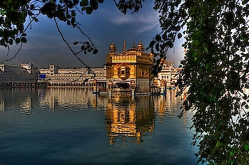 Built in 1577, the Golden Temple's dome is gilded with pure #gold. PC: Ronald Woan, Flickr #heritage #wow #amazing #travel #travelbug #instatravel #wanderlust #see #gameoftones #incredibleindia #photography #photooftheday #india #Amritsar #Punjab