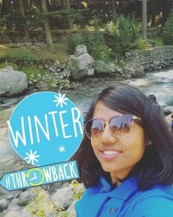 #throwback #Winter #TripToWildNature #BlueSweater 💙💙💙💙😀😀 #winter
