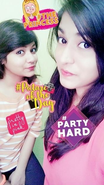 happy birthday bestie😘😘😘🎂🎂🎂🎂 #prettyinpink #partyhard #theprincess #pictureoftheday