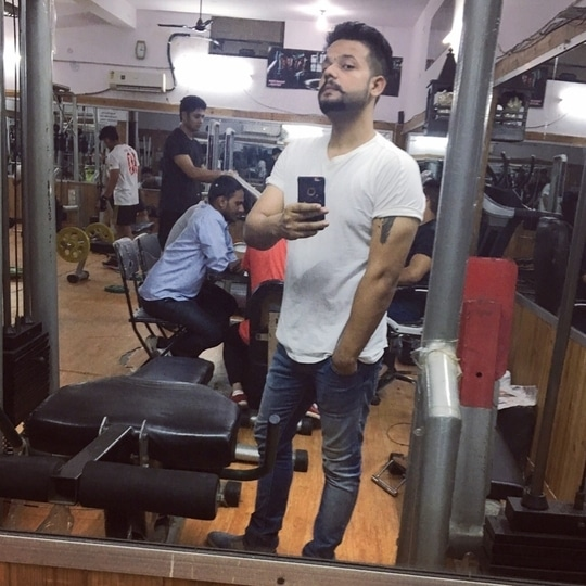 #postworkoutpicture #gym #tshirt #staycool #stayfit #gym  #casualwear