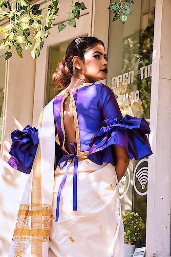 blouse #blousestyle #ootd #sareefashion #sareeshoot #designerclothes #roposo #roposolove #roposotimes #roposomumbai #roposomumbaitimes #soroposo #soroposofashion #soroposolove #ropososaree #roposocool #roposolook #roposodesigner