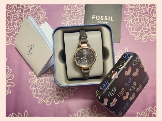 My #birthday #gift 🎁...... #thankyou @nisha.rasaily for this #beautiful @fossil #fossil #wrist #watch .... I always wanted this same... 😍 #watches