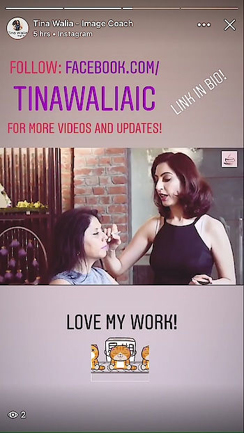 Contouring made easy #slimroundface #sippingthoughts #youtube #watchnow #tipsntricks #lovemyjob #passionforlife #imageconsultant #softskillstrainer #tina_walia😊