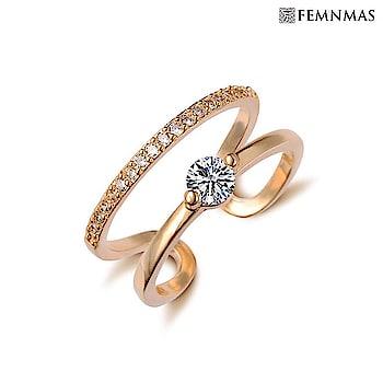 18K Gold Plated Ring Rs 499/- Shop Now- https://goo.gl/ekrpWN ————————————— #engagementring #zirconring #solitairering #fashionring #artificialrings #onlinejewellery #onlinejewellerystore #fashionjewelry #fashionjewelleryindia #jewellerybrand #femnmas
