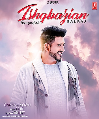Get ready for new... sensational track #Ishqbazian    #Balraj     #GGuri    #Singhjeet    Naresh Kaka releasing announce soon. Stay tuned with us 🙏🏻
