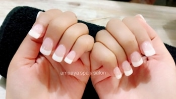 #nails #nailextensionideas #nail-designs #amaaya #nailsalon #bestnailshades #hairspa #upto50off #upto50percentoff #gurgaonnail #nailsoftheday