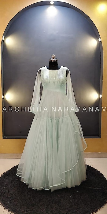 ~Bridal gowns from thalassa~  #archithanarayanamofficial #bridalcouture #bridalgowns #bridalwear #pastels #thalassa #embellished #love #layered #tulle #bridesmaids #grandure #sangeet #reception