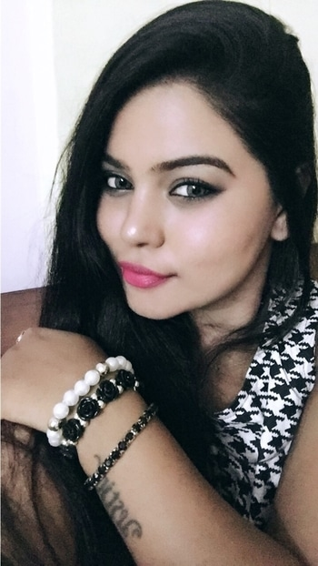 All Black&White Face! #fotd #ootd #accessories #dress #olens #eyes #swag #beauty #roposome #roposolove #makeup #hair #swag #fashion #fashionblogger #style #love #roposotrend #roposotalks #roposogal #roposo-makeupandfashiondiaries #soroposofashion #roposofashionblogger