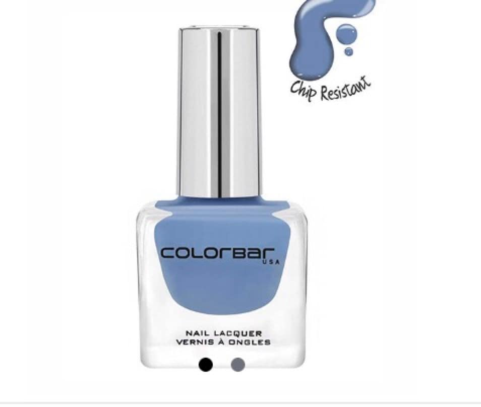Summer is here so let's paint our nails & toes in summerish shade sky blue from ColorBar #colorbarnaillacquer #skyblue #sundaymood