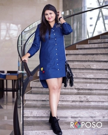 How adorable are these patches? 🌟😍💛 Absolutely crushing over this denim dress from @fab_alley 💙 Shot by @jyotikabaijal 💌📷 .. .. #Alleygals #Fab_alley #famjam #bloggerdiaries #bloggerstyle #aboutalook #lookbook #bloggerlife #happyeid #thecelfieprincess #blessed #webstragram #goodmorningpost #lifeisgood #kolkatablogger #shootlife