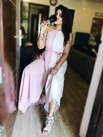 "Buy this sexy dress from @shein_in @sheinofficial and use code ""deepti20"" to avail discount. . . Tag me if you buy any Shein dress from my code. Would love to see u girls styling it 😍😘 . . #shein #sheinofficial #onlineshopping #dress #gown #pinkdress #sexyoutfit #styleblogger #stylishgirl #delhiblogger #delhifashion #indianblogger #indianinfluencer"