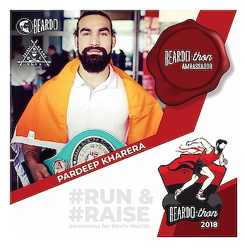 "Beardothon is an amazing initiative to create awareness about men's health and cancer. So excited to be the ambassador for Beardothon! Hoping to see you guys on 4th of November at Common Wealth Games Village Sports Complex, Near Akshardham Temple, Delhi. #RunNRaise #beardothon2018  Bharat Beard Club BeardoThon - Delhi 2018 Beardo BEARDO for Men "" #beardothon #beardo #bharatbeardclub #beardothondelhi #delhi #haryana #keeprunning #runners #running #fitness #fit #fitnessmotivation #health #healthylifestyle #runforcause #run #athletics #fitindia #beardoforlife #runforall #5k #10k #21k #menshealth #menofindia #kheloindia"