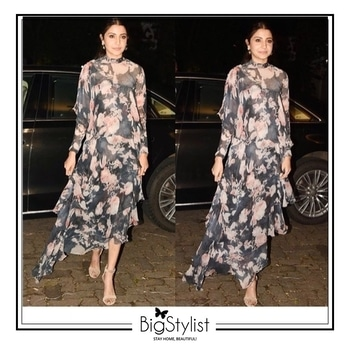 Loving Anushka Sharma's easy breezy look! Like this? Say a Hi on WhatsApp at 9920465699 for more such fantastic stuff! #anushkasharma #celebritystyle #fashion #beauty #trends #hair #makeup #bollywood #love #inspiration #love #stayhomebeautiful #BigStylist
