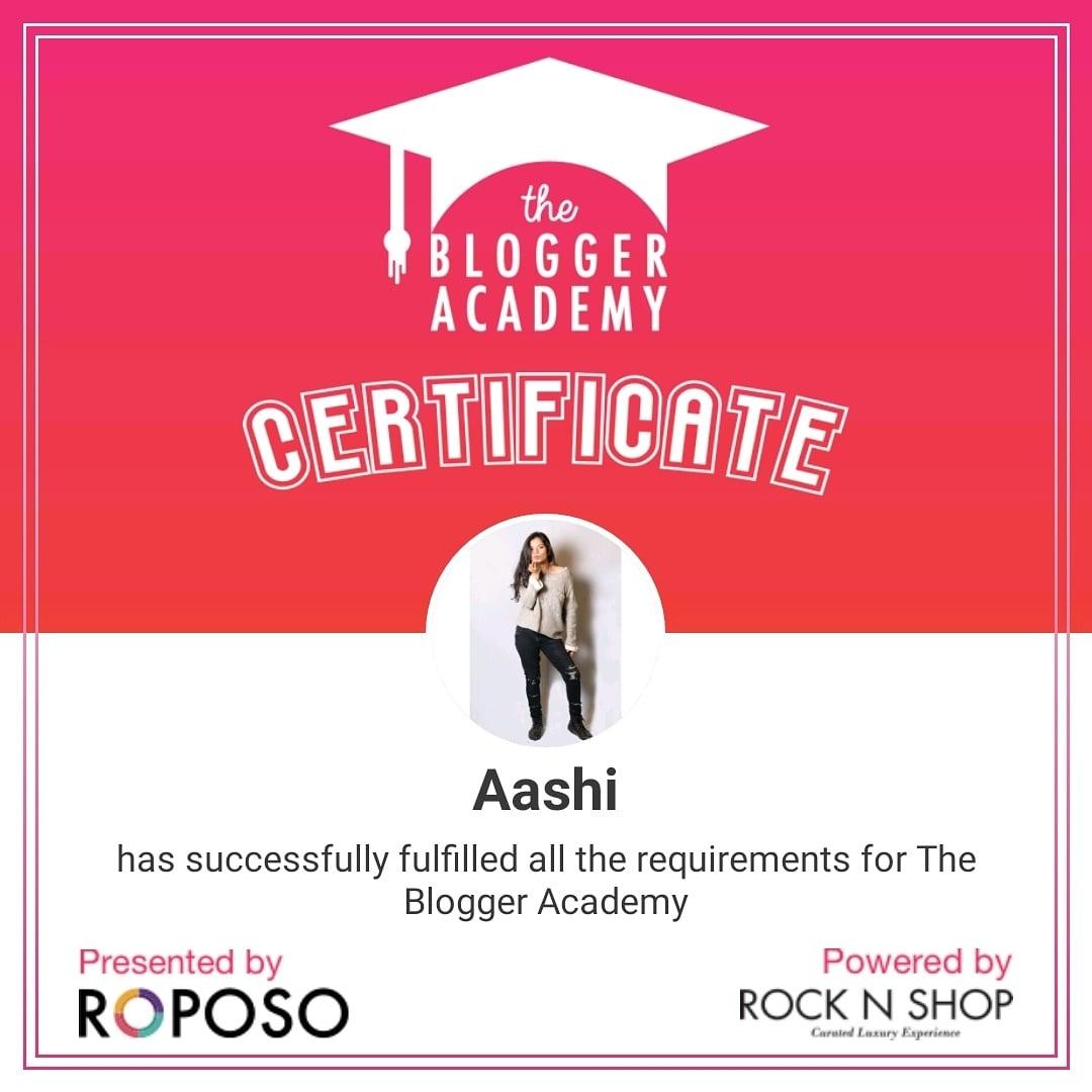 Yayyayya @roposotalks @rock_n_shop Thanks a ton for this