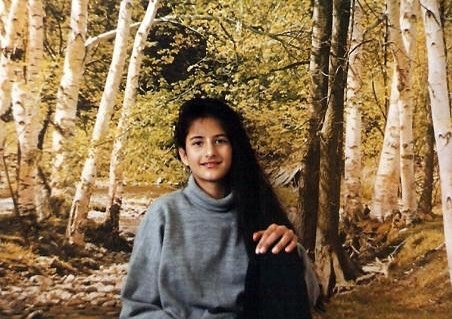 #katrinakaif  #bollywood #actress #childhood #picture