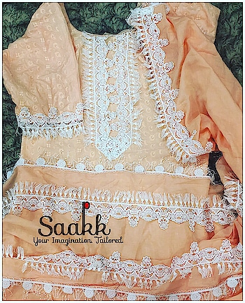 We love unique things that not everyone has. We believe it's all about how you wear an outfit , not how much it costs or where it's from. Elegance is the key. #summercollection #summerwear #corals #loveforcrochet #mulmul #saakk #saakkbysakshi #saakkyourimaginationtailored