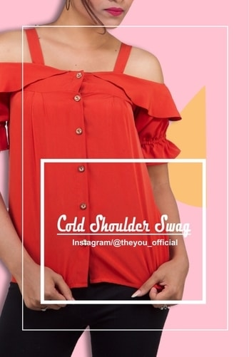 Time for some red and some cold shoulder this week !  Pair it up with your fav denims and rock on gals ! . . Shop now at www.theyou.in or DM us for orders now . . . Shop! Click ! Love ! #instapic #instapic #instalike #instagood #instaclick #follow4follow #followforlike #followforfollow #likeforlike #likeforlike #likeforlikes #likeforfollow #likeforfollow #ootd #potd📷 #patterns #Paris #blue #liveforblues #theyousquad #theyousquad #theyouthere #theyouandyou #theyou_family