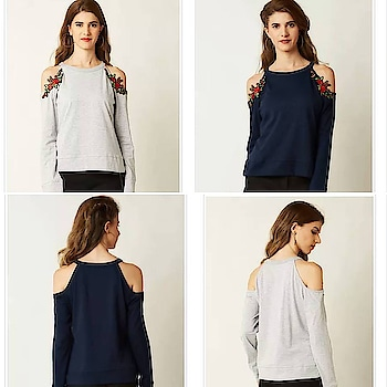 Grey Solid Full Sleeve Embroidered Cold Shoulder Top 1,049/- (30% OFF 1499/-) Pattern - Embroidered Pattern - Solid Material - Cotton PAYMENT METHODS SUPPORTED Cash On Delivery Online Payment/Net Banking RETURN POLICY Can Be Returned In 5 Days After Delivery. WOOPLR GUARANTEE Seller and Product Quality Checked 100% Refund on All Returns Secure Payments & Transactions https://mykindofclothes.wooplr.com/…/grey-solid-full-sleeve…# #mykindofclothes #Wooplr #WooplrXYou #wooplrinfluencer #women #tops #onlineshopping #india #onlinestore #indiashopping #shopping #indiafashion #fashioninsta #girlsfashion #womenfashion #coldshoulder #embroidery