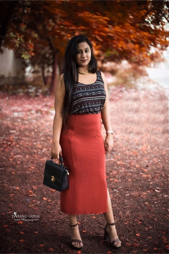 photographer: @taranggoyal  The most important part of any good picture is where you took it.If the location of the picture is good it automatically adds to the look.  Pairing my plain pencil skirt with a tribal print top from forever21 Fashion tip:Avoid printed on printed #allaboutlocation #streetstyledelhi #collaboration #fashionblogger #bloggeracademy #forever21india #F21 #summerlookbook #summerstyle #outfitforsummers #beattheheat #makeup #roposo #assignment3