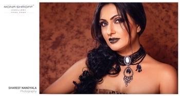 #Mrs Universe2017 #beatifuleyes #muktachopra #latestshoot #monashroffjewellery @shroffmons #photographer #shareefnandyala