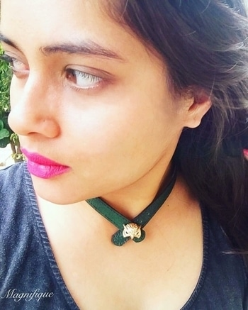 Www.magnifiquejewels.com  Chokers are all the rage, and we have created for you the most unique one.   #ropo-love  #bracelet #wow #picoftheday #jewelry #jewellery #premium #inspiration #luxury #luxurylife #statementjewelry #elegant #woman #girl #india #delhi #noida #gurgaon #mumbai #punjab #chandigarh #ludhiana #jalandhar #mohali #fierce #beautiful #instadaily #instagood #bosslady #classy  #neckpiece