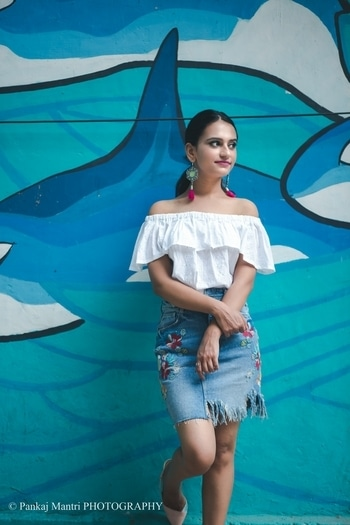 This look going up this Wednesday on my blog.!☺ Stay tuned for more pictures and outfit details.💕 ... 📷:-@pankajmantri ... #allshelove#allsheloveblog#fashionbloggerofindia#indianblogger#ootd#embroideredskirt#miniskirt#offtheshoulder#zaradress#zara#delhifashion#delhifashionblogger#indianfashionblogger#instastyle#instafashion#instaootd#instafollowers#keepliking#keeploving#keepsharing#follow#followme#followher#likesforlikes#love#passion#mystyle.