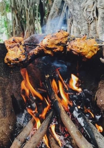 #chicken #tandoori #indianmasala #spicy #mountain #nature #shotoniphone