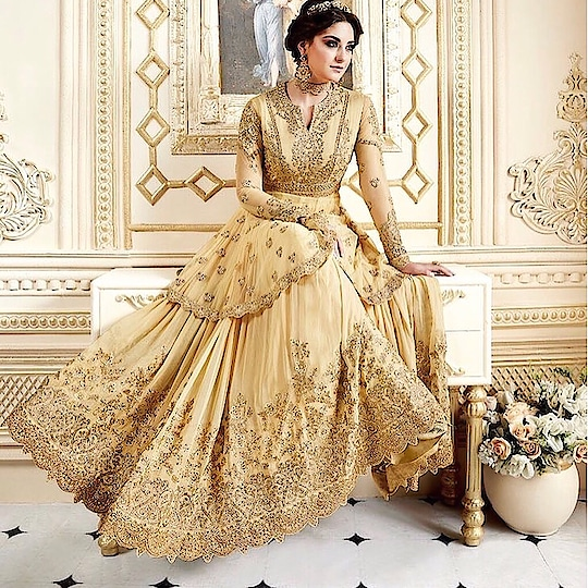 Pastel Yellow Georgette Net Anarkali Suit  Product code - FCSS1544 Available at www.fashionclozet.com  Watsapp - +91 9930777376 Email -  info@fashionclozet.com Or DM for enquiries  #anarkali #indianfashion #indiancouture #weddingday #thailand #france #traditional #ethnicwear #classy #reception #engagement #ethnic #wedding #pink #cocktail #peach #bollywoodstyle #royalwedding #mumbai #bridesmaid #delhi #destinationwedding #bridesmaids #bridestobe #bridalcouture #bridesquad #cute #ladiessuits #pakistanifashion #couture
