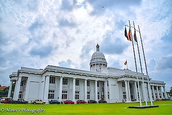 The Parliament of SRILANKA ... #srilanka #travelshoot #parliamenthouse #srilankatourism #srilankaview #colombo #travelling #sky #colours #colomotravel #love #lifeistotravel