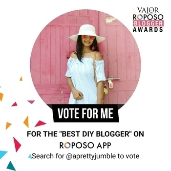 Guys, please check out my DIYs and do vote for me if you like my posts 😊 #roposoblogger #roposoawards#diyblogger  #diy