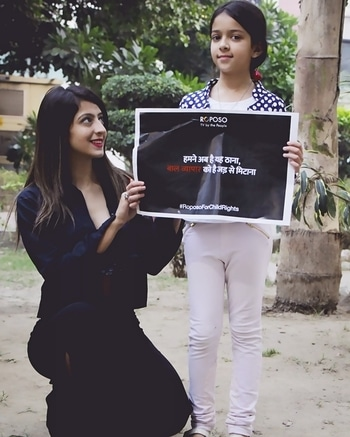 There can be no keener revelation of a society's soul than the way in which it treats its children. @roposolove has taken a step towards it and I decided to be a part of this initiative.  #RoposoStandsFor  Child Development Say no to child labour Say Yes to education  #RoposoForChildRights #childrights #childlabor #cause #goodcause #instagood#instamood  #tweegram #picoftheday #igers #girl #beautiful #instadai#instagramhub #igdaily #bestoftheday #initiative #asmitarora #asmitaarora