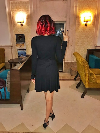 I did something to my hair.   #newhaircolour #redhair #redhead #fashionblogger #fashionista #fashionlover #delhifashionblogger #ropo-style #ropo-good #roposogal #roposo-fashiondiaries