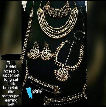 #kundanjewellery #bridejewelry #weddingjewellery