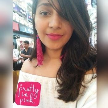 My never ending love for PINK #pinklove #tasselearrings #prettyinpink