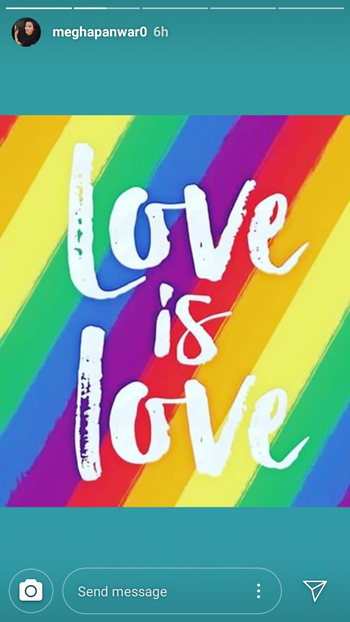 Decriminalising homosexuality and abolishing section 377 is huge step for humanity and equal rights. Except them and respect them who they are. And don't ask them to be who they aren't. This is call Real freedom  #loveislove  #prideindia